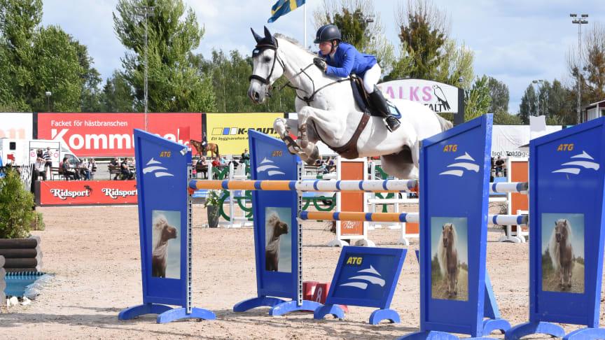Helena Persson ser fram emot att börja säsongen med ATG Riders League. Foto: Jessica Bergström Ortiz.