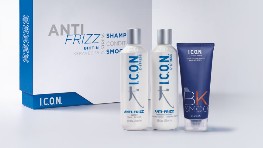 Bekämpa frisset med I.C.O.N.s ANTIFRIZZ-serie