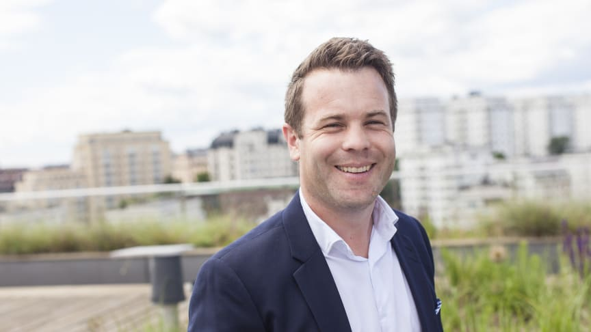 Pär Johansson ny regionchef för TNG Örebro