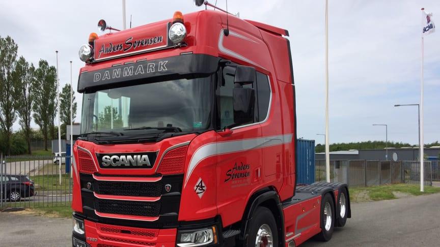Anders Sørensens nye Scania R 580