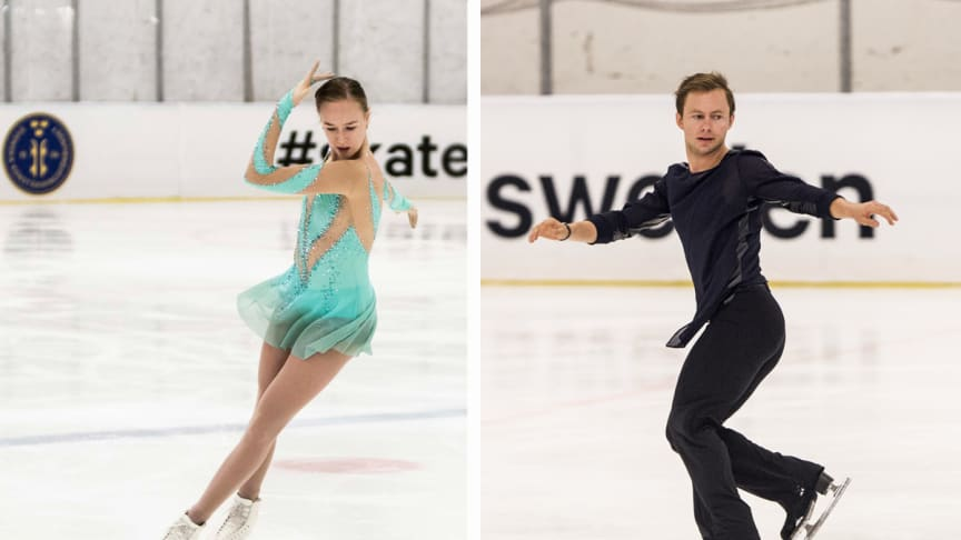 Östlund och Majorov uttagna till VM i konståkning i Japan