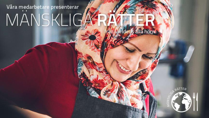I matserien Mänskliga rätter delar medarbetarna frikostigt med sig av mattraditioner och recept från sina hemländer.