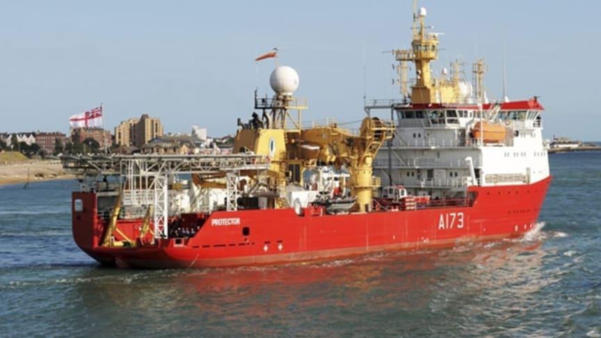 Cavotec radio remote controls embark on Antarctic mission