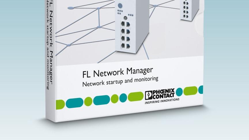 Central konfigurationsmjukvara FL Network Manager från Phoenix Contact