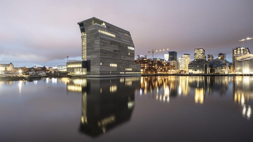 Det nye Munchmuseet i Bjørvika. Foto: Adria Goula