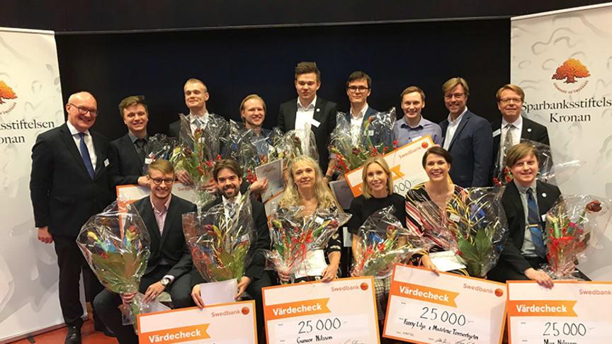 Stipendiaterna från 2018.