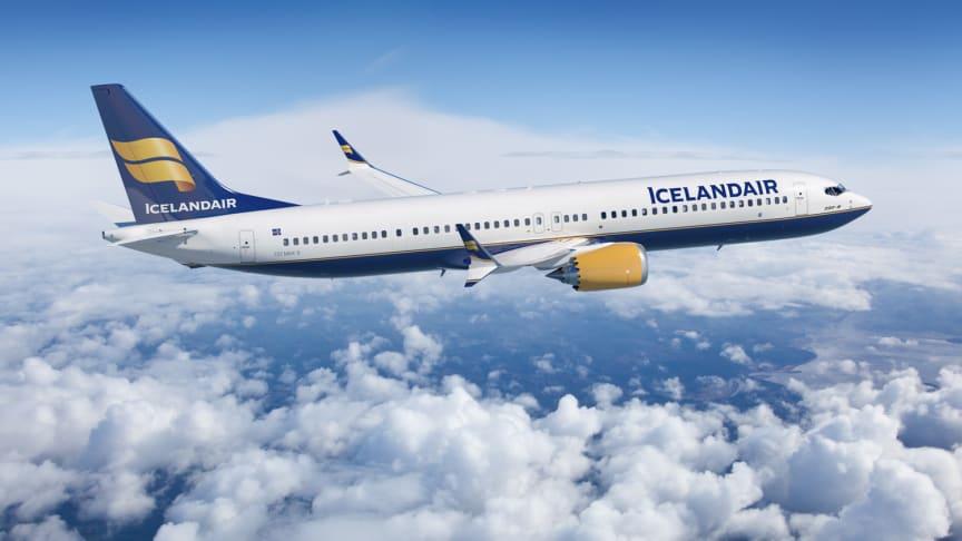 Icelandair Group og Boeing har indgået aftale om levering af 12 nye fly