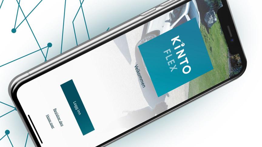 Verdensnyheten KINTO Flex lanseres først i Norge