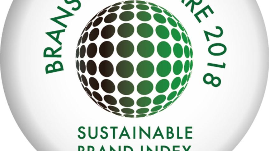 Branschvinnare 2018, Riksbyggen, Sustainable Brand Index B2B
