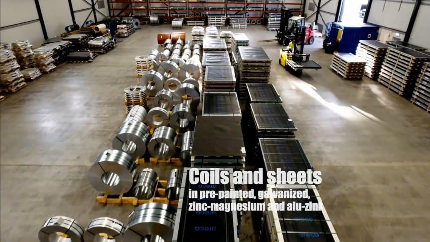 Nytt stålservicecenter gör Areco Metals till totalleverantör av stål