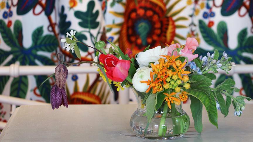 Utställningen Josef Franks flora visas fram till 20 september.