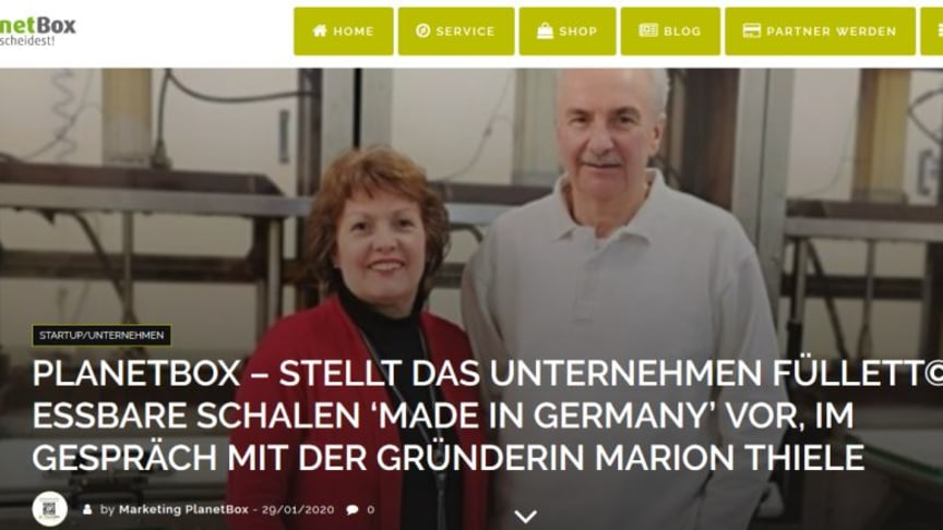 Interview PlanetBox – Fa. Füllett