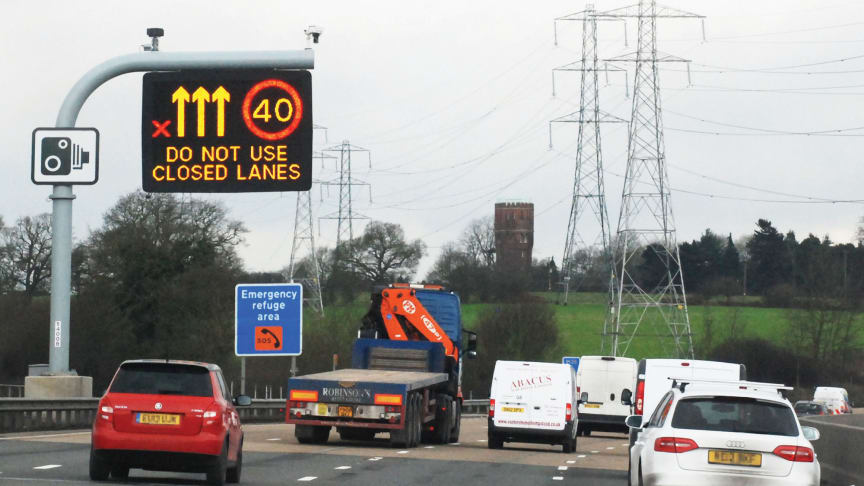 Government to review smart motorway safety - RAC statement