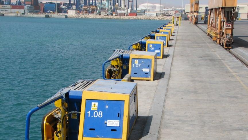 Image (2) of Cavotec MoorMaster™ MM200C units at the Port of Salalah, Oman