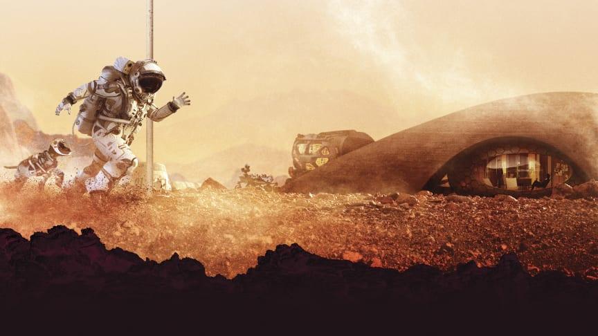 Nytt rymdäventyr på Tekniska – resan mot Mars börjar nu