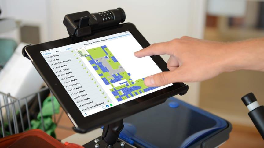 Bättre resultat hos Tierpsbyggen med digitala städverktyget CleanPilot