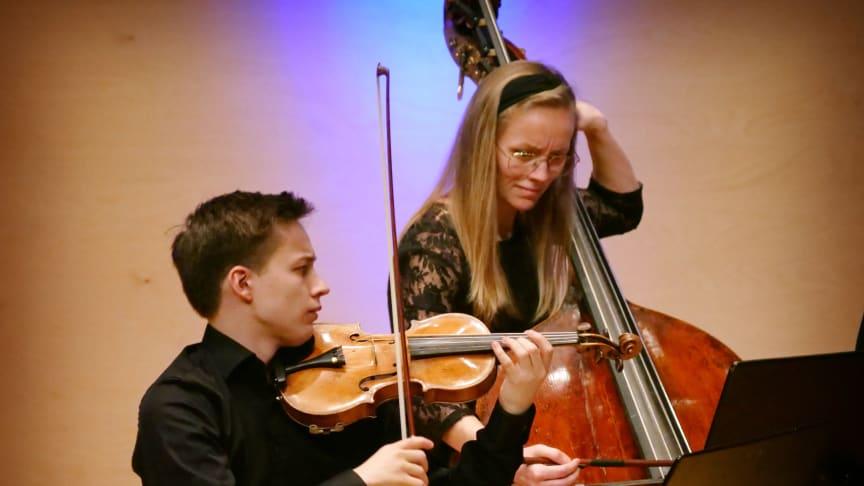Johan Dalene och Emma Josefsson Björnevik - konsert Schuberts Forellkvintetten
