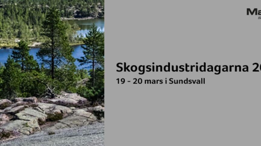 Träffa oss på Skogsindustridagarna