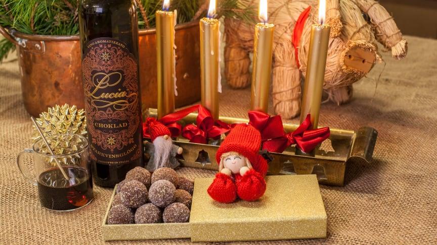 Chokladpraliner med populära Lucia Choklad