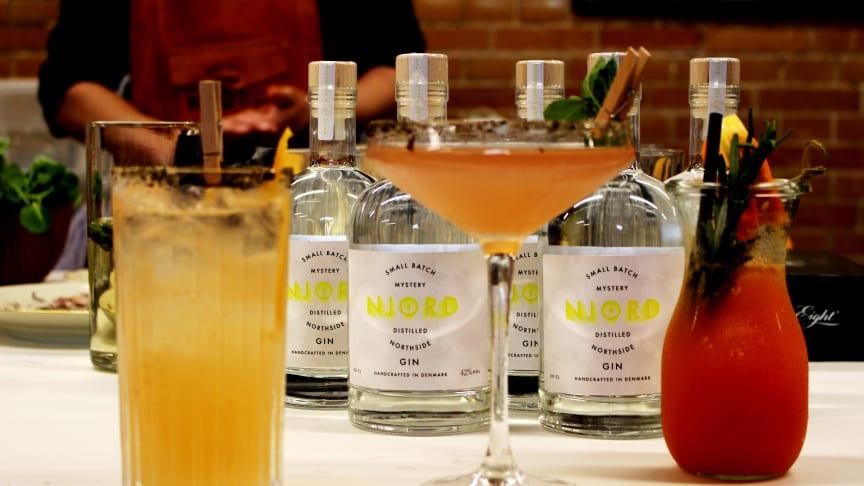 The Rim Shot (forrest til venstre) er dette års officielle NorthSide-cocktail