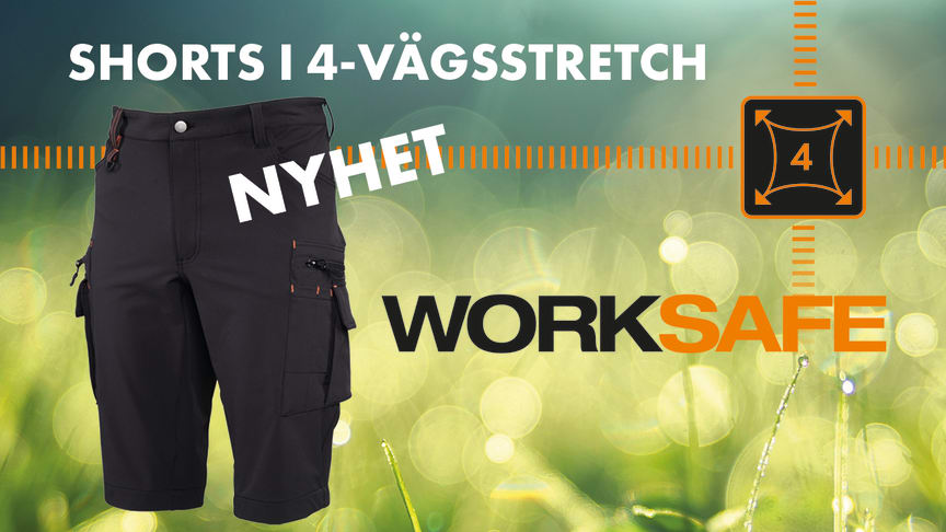 Worksafe Shorts Perform Stretch