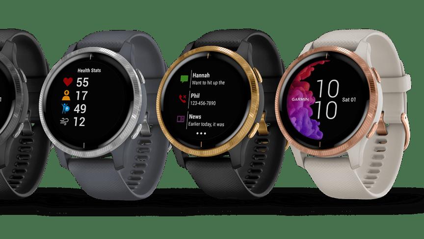Garmin Venu smartwatch med GPS och en fantastisk AMOLED-skärm