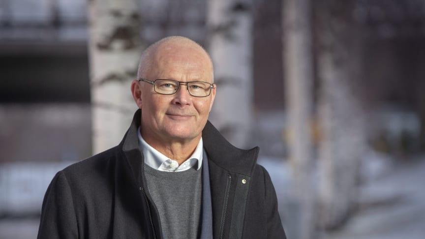 Gunnar Eklund, ny produktionsdirektör på Polarbröd AB.