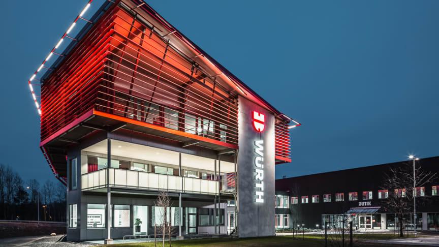 Würth Svenska AB, med huvudkontor och lager i Örebro, redovisar nytt försäljningsrekord.