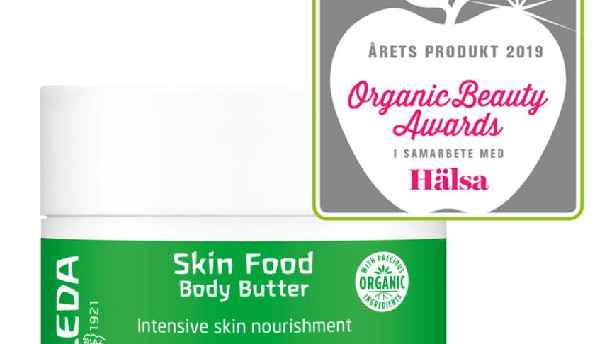 Rösta på Weleda Skin Food Body Butter som Årets Produkt 2019