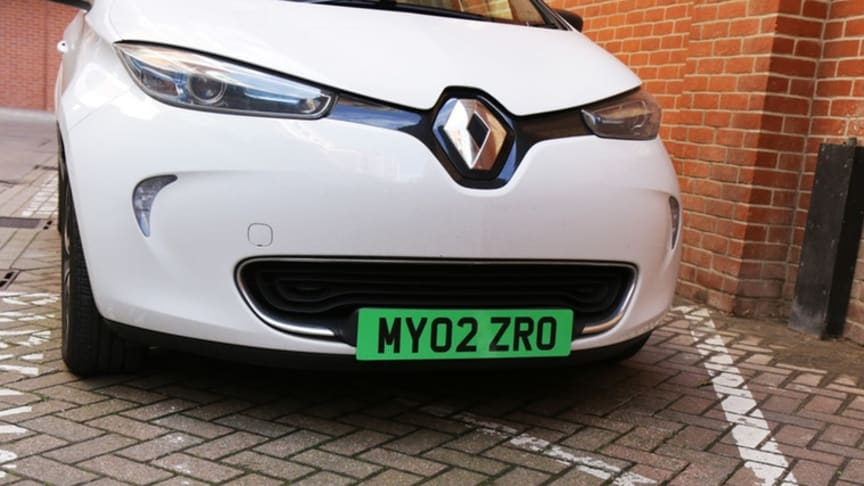 Government to introduce green number plates - RAC reaction