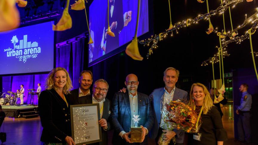 Storslam för Skandia Fastigheters köpcentrum på NCSC Awards