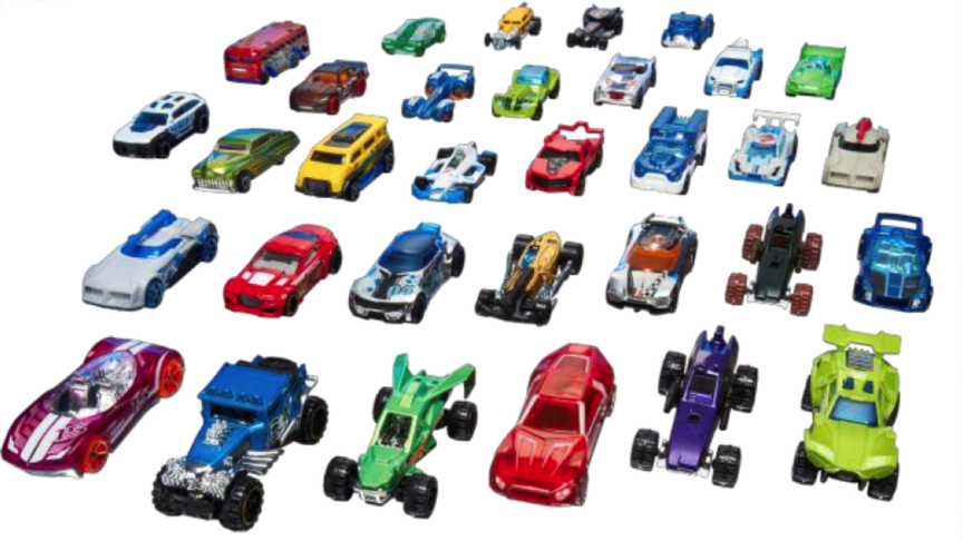 Hot Wheels Serie 1:64 Sortiment