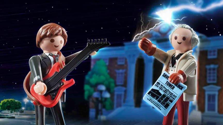 Back to the Future Marty McFly und Dr. Emmet Brown (70459) von PLAYMOBIL
