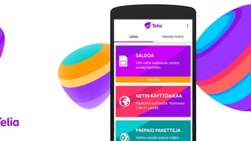 Välkomna till familjen Telia Prepaid och Telia Helppo!