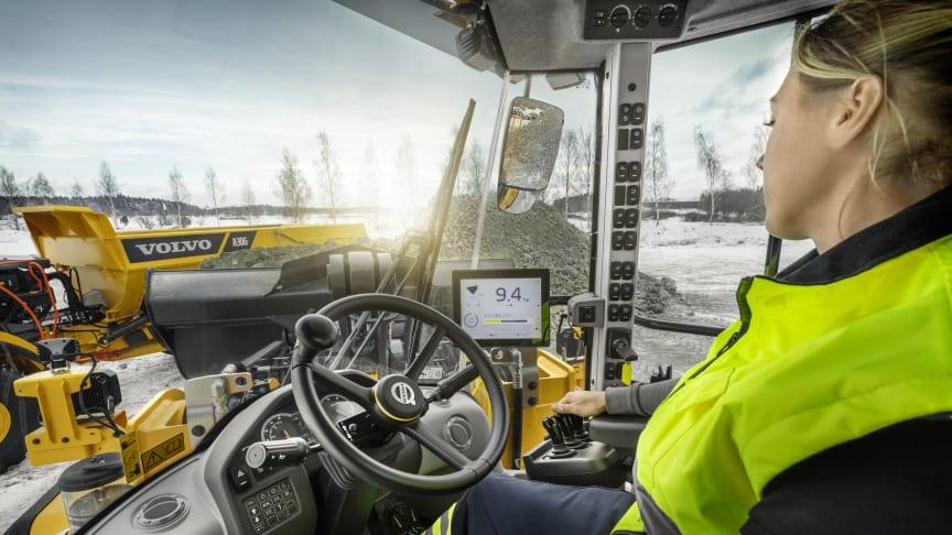 Load Assist är nyckeln till Volvo hjullastares fulla produktivitetspotential