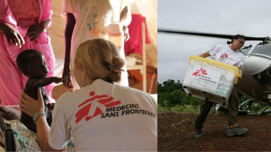 Cementa stödjer heroisk insats i kampen mot ebola
