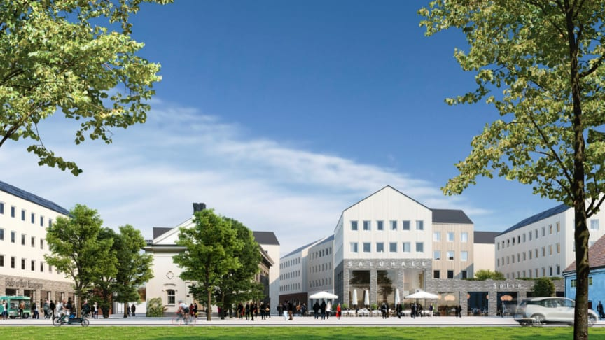 Riksbyggen ger förslag på nya kvarter i centrala Norrtälje