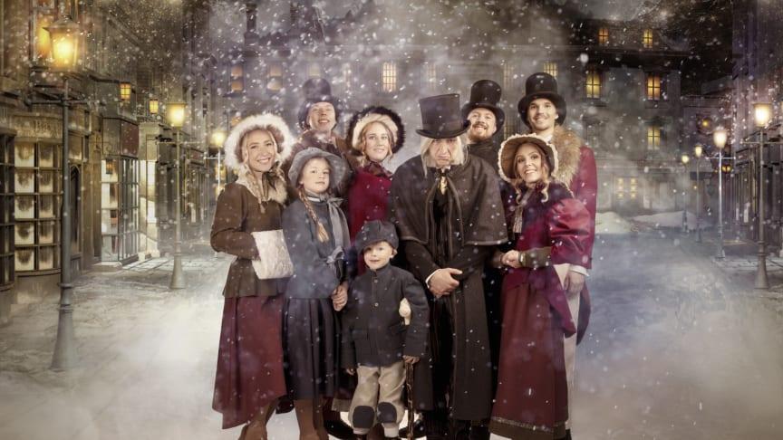 Ny musikalisk julsaga på Lisebergs isbana i år