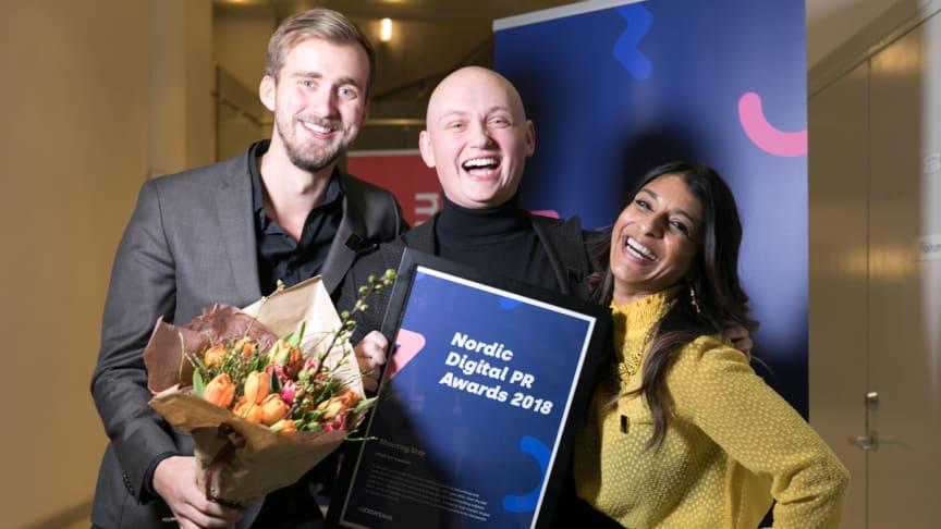 Foto: Mauro Angelantoni, Hack for Sweden - Vindere af Shooting Star