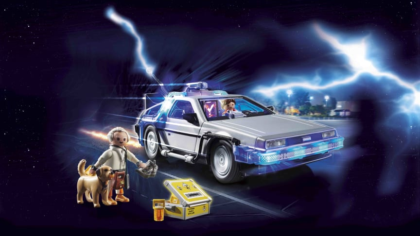 Back to the Future DeLorean (70317) von PLAYMOBIL