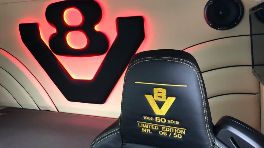 Scania V8 Limited Edition til vognmand fra Give