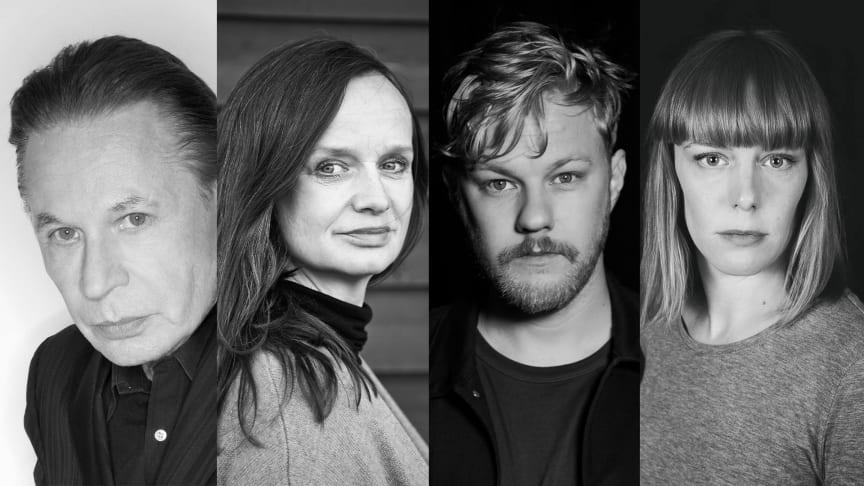 Reine Brynolfsson, Maria Kulle, Gustav Berg och Kajsa Ericsson medverkar i höstens uppsättning Edward Albees Vem är rädd för Virginia Woolf?