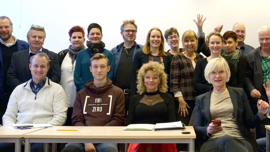 Pilotgruppen i SVIDs nya utbildningsprogram Designdrivet