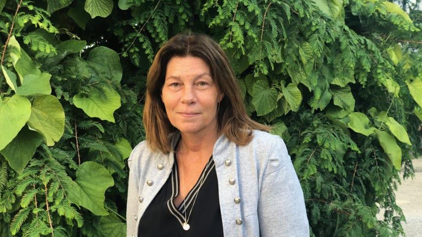 Liselotte Svensson är Sveriges bästa vårdchef 2019. Foto: Louise Nordholm