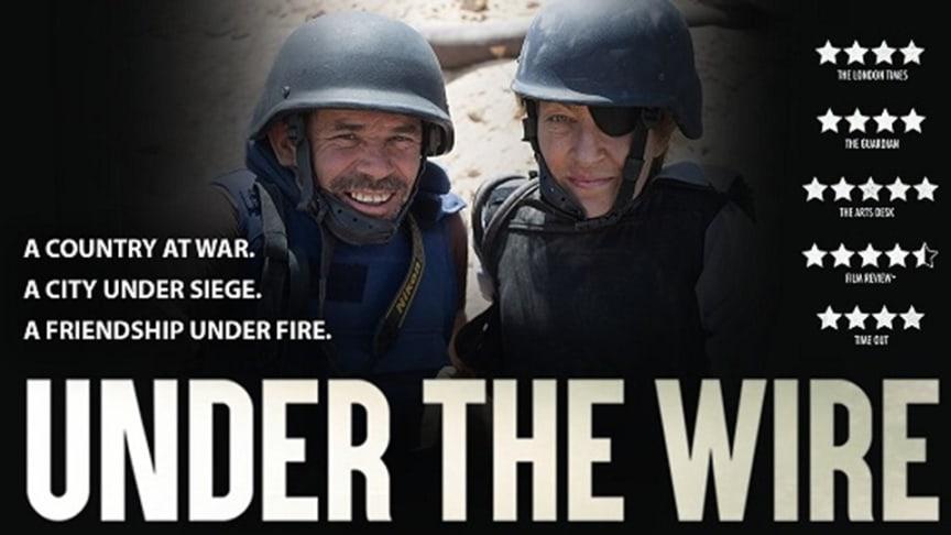 Dokumentärfilm om krigsjournalistikens villkor under SEE hållbarhetsvecka i Västerbotten