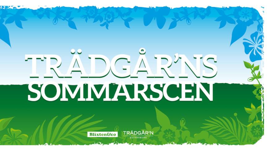 Ny sommarscen på Trädgår'n i Göteborg - Lisa Nilsson, Weeping Willows, TAW & Mauro Scocco, Miss Li & Thomas Stenström alla klara för i år!
