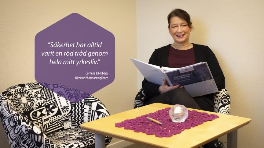 Cornelia Lif-Tiberg, Director Pharmacovigilance, på CTC Clinical Trials Consultants.