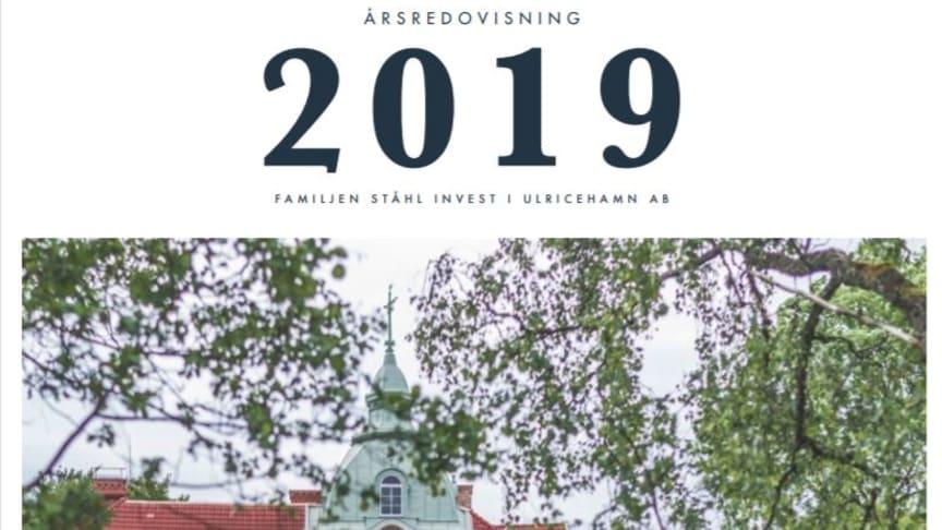 Familjen Ståhl Invest i Ulrichehamn årsredovisning 2019