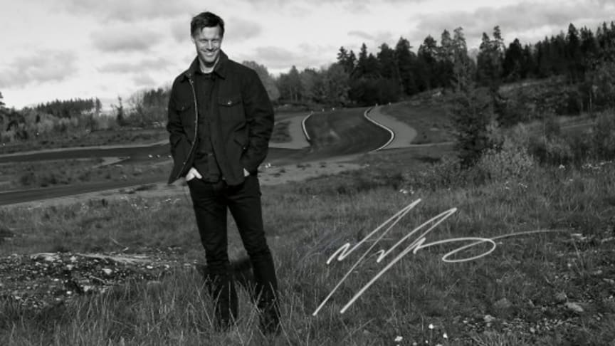 Jonas Jarlmark vid DRIVELAB Test Track Terrain
