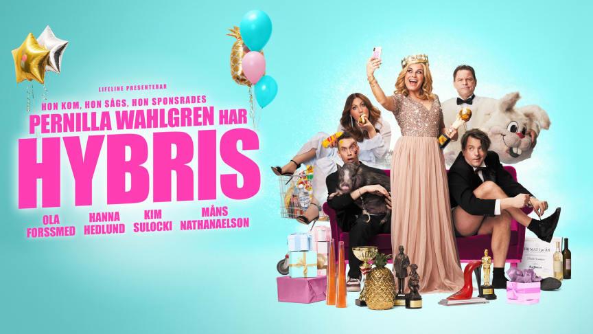 Pernilla Wahlgren har Hybris gör föreställning i Oslo